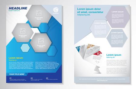 flyer: Vector Brochure Flyer design Layout template.infographic