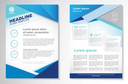 plantilla: Vector Folleto folleto de diseño Disposición template.infographic Vectores