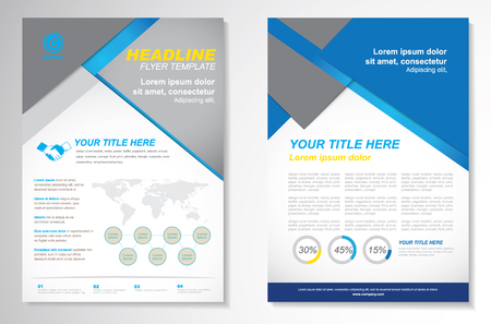 blank brochure: Vector Brochure Flyer design Layout template.infographic