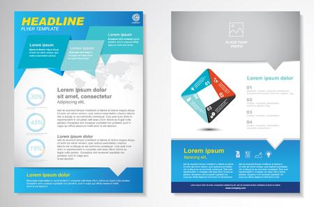 brochure layout: Vector Brochure Flyer design Layout template.infographic