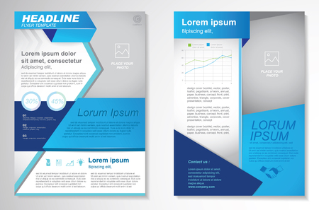 page layout: Vector Brochure Flyer design Layout template.infographic