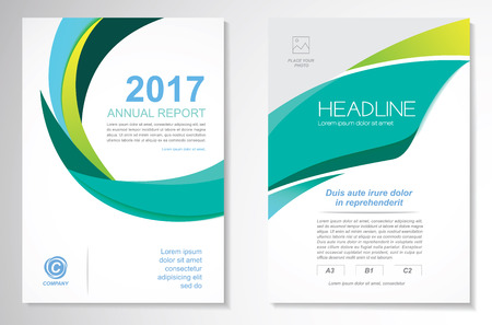 Vector Brochure Flyer design Layout template, size A4, Front page and back page, infographics. Easy to use and edit. Imagens - 70037074