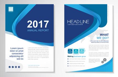 Template vector design for Brochure, Annual Report, Magazine, Poster, Corporate Presentation, Portfolio, Flyer. Vectores