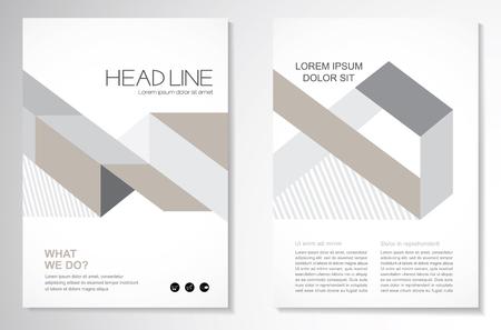 magazine design: Template vector design for Brochure, Annual Report, Magazine, Poster, Corporate.