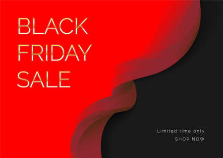 Black friday for social media, Abstract flash sale, Price discount promotion for Web design, Poster, flyer. Vector EPS10 矢量图像