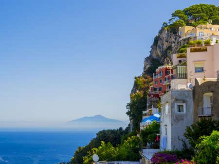 Capri coloré Banque d'images - 93277287