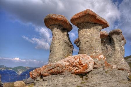 named: stone group named Babele in Bucegi, Carpati, Romania Stock Photo