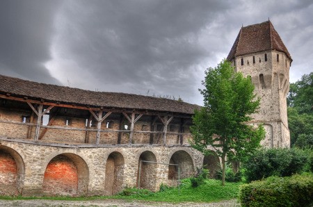 tower in Sighisoara, hdr bastion