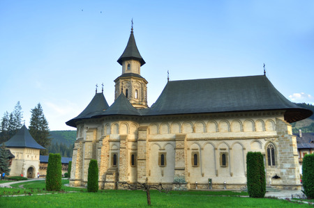 Putna Monastery, Bucovina, Romania Standard-Bild