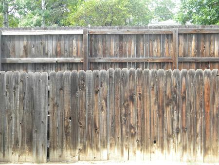 two fences  photo