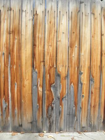 grey   tan fence  photo