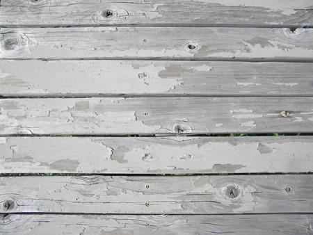 gray board w peeling paint photo