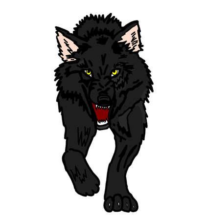 Zwarte Wolf