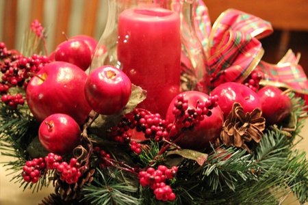 Holiday centerpiece Stock Photo - 11809406