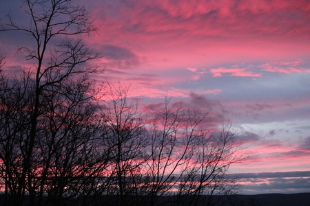 Appalachian Sunrise Stock Photo - 11878717
