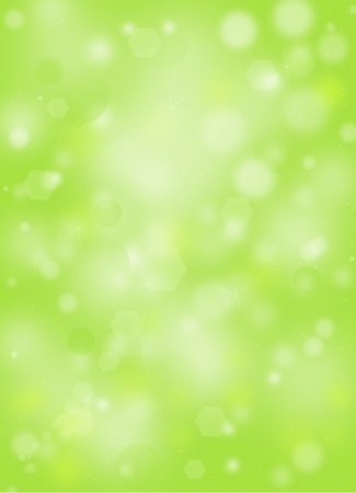 Green natural background with ray of lights photo