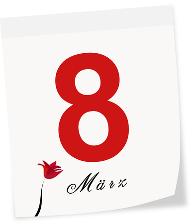 womenīŋŊs: International Women s Day on March 8th  Calendar page