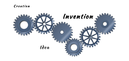 toothed: Abstract toothed wheels as creation mechanism