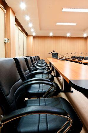empty-seats-in-boardroom Stock Photo - 10657707