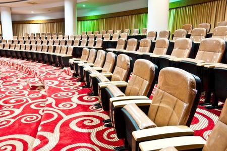 empty seats in auditorium interiors photo