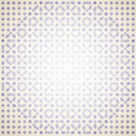 Abstract of purple square on soft background. Mosaic background with geometric template. Illustration vector eps10