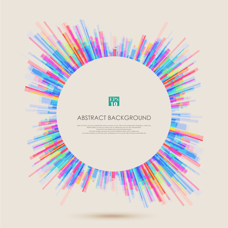 Abstract background with colorful geometric lines pattern for your business presentation. Illustration vector eps10