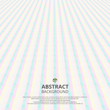 Abstract of soft sweet stripe line pattern perspective background, Illustration vector eps10
