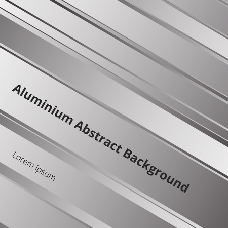 Details of abstract pattern metal aluminum surface background. Illustration vector eps10