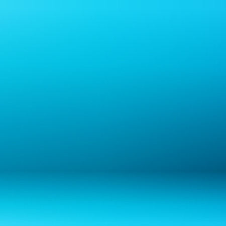 Abstract of blue gradient room background, illustration vector eps10