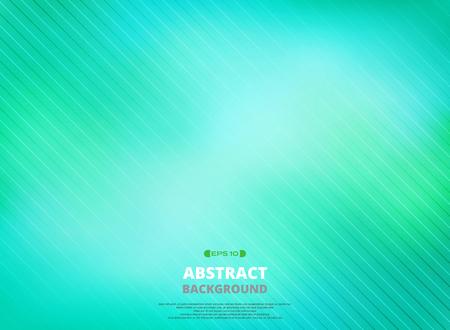 Art of line pattern in green gradient background. Illustration vector eps10 Illustration
