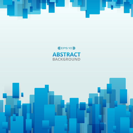 Abstract of gradient blue trendy technology geometric background, illustration vector eps10