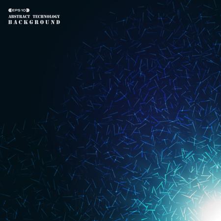 Abstract futuristic split up geometric background, vector eps10 Banco de Imagens - 127457040