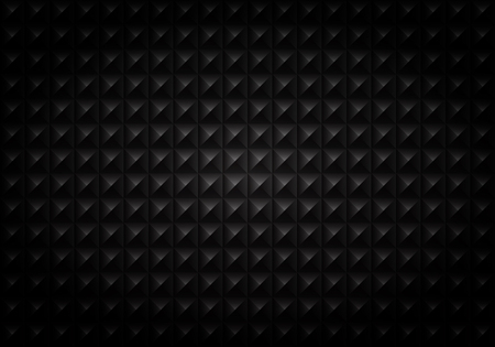 Abstract of gradient black square geometric pattern background, vector eps10 Banco de Imagens - 127380051