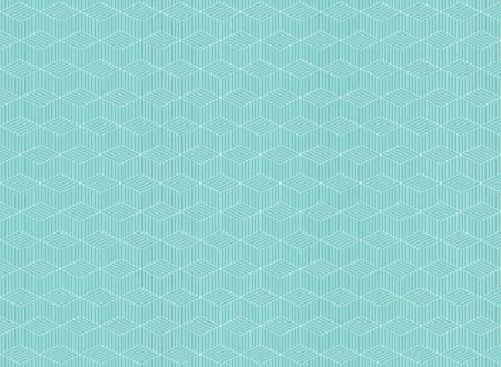Abstract of blue stripe line pattern of zig zag background op art, vector eps10 Banco de Imagens - 127335198