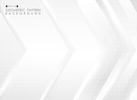 Abstract of technology futuristic arrow gradient gray pattern background, vector eps10