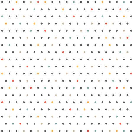 Abstract of color minimal dot pattern background, vector eps10 Ilustração