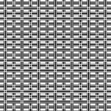 Abstract op art black and white geometric pattern background, vector eps10