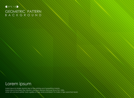 Abstract background gradient green stripe line design business. vector eps10