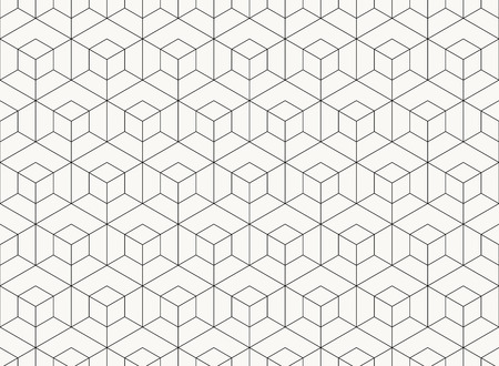 Pattern hexagon design geometric black line of tech background. You can use for design element, ad, poster, wrapper paper, print, artwork. illustration vector eps10 Illustration