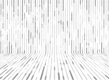 Abstract black and white circle dots pattern lines decoration background. You can use for ad, poster, pattern artwork, presentation Ilustração