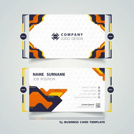 Abstract modern art style template colors technology name card design background. You can use for business name card, template design, print, interview, cover
