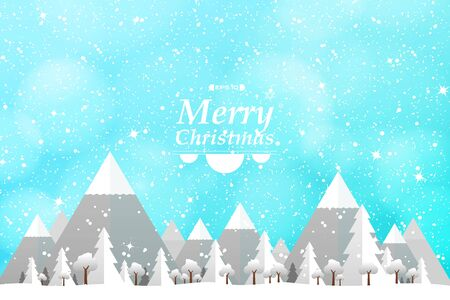 Abstract Merry Christmas theme background of white and gray paper cut decorative design. Use for poster, ad, artwork, template design. illustration vector 일러스트