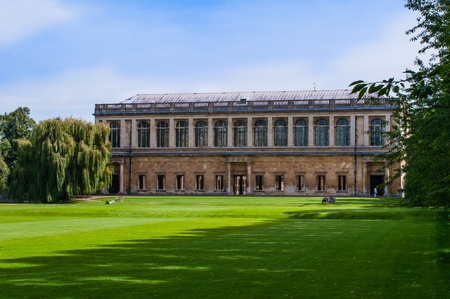 stereotypically: Beautiful landscape of a college in England, Editorial