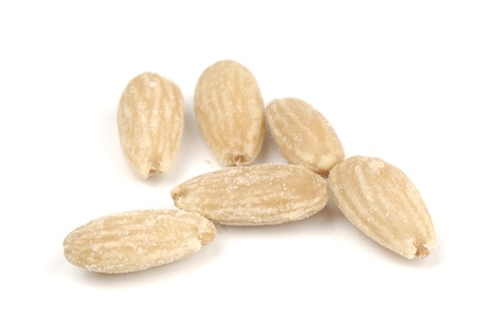 fried salted almonds