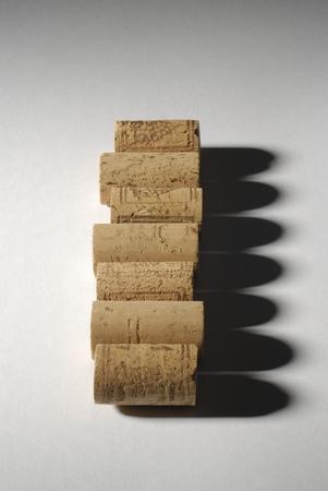 foto de archivo tapones de corcho para botellas de vino
