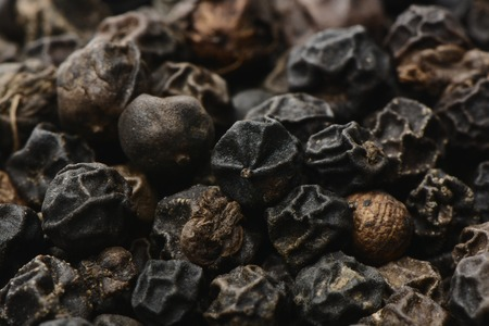 warmly: Black Pepper, macro picture
