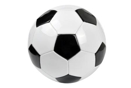 pelota de futbol: Bal�n de f�tbol Foto de archivo