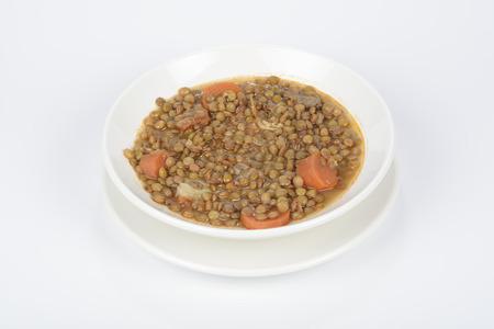 lentejas: Dish with lentils