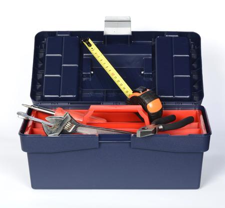 Tool box open Reklamní fotografie