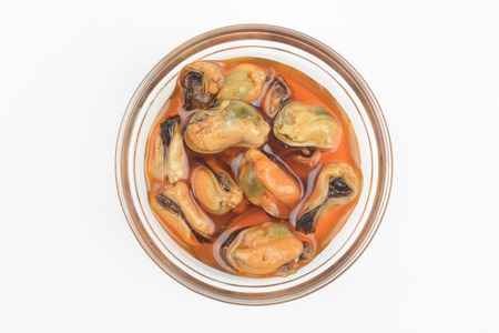 mussels: Pickled Mussels